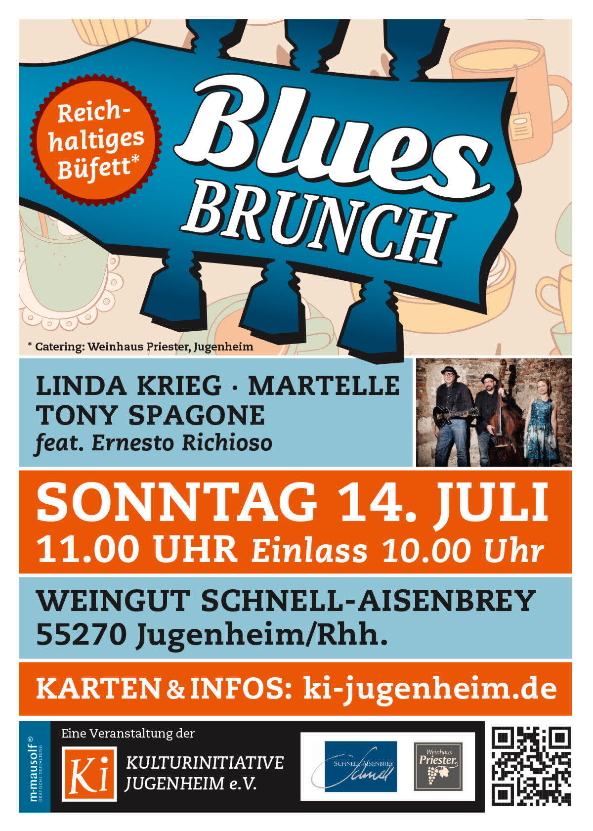 Blues Brunch 2019 Plakat